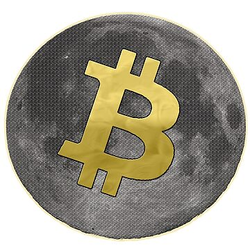 bitcoin moon  by Brownpants