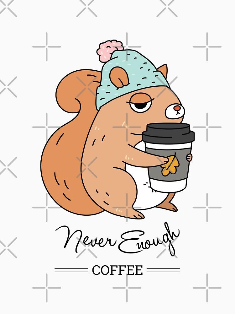 Squirrel, never enough coffee by Miri-Noristudio