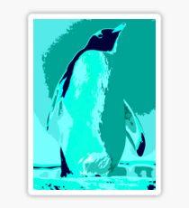 Penguin Ocean Sticker