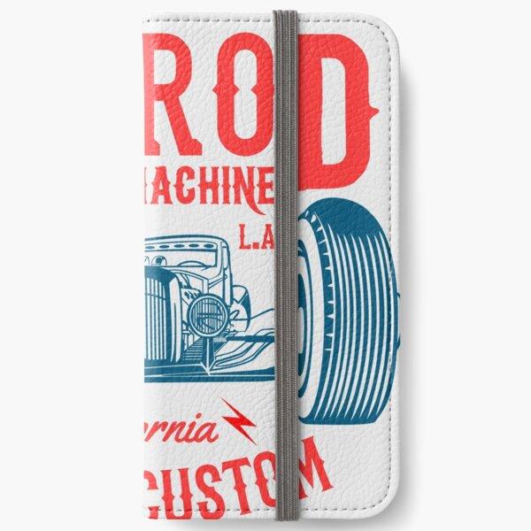 Hot Rod Death Machine iPhone Wallet