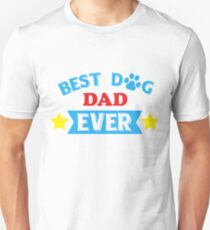 Custom Dog - Dog Lover Gift - Dad Card - With My Dog - Cards For Dad - Daddy Shirt - Dog Mom - Custom Dog Portrait - Card For Dad - Dad Shir Unisex T-Shirt