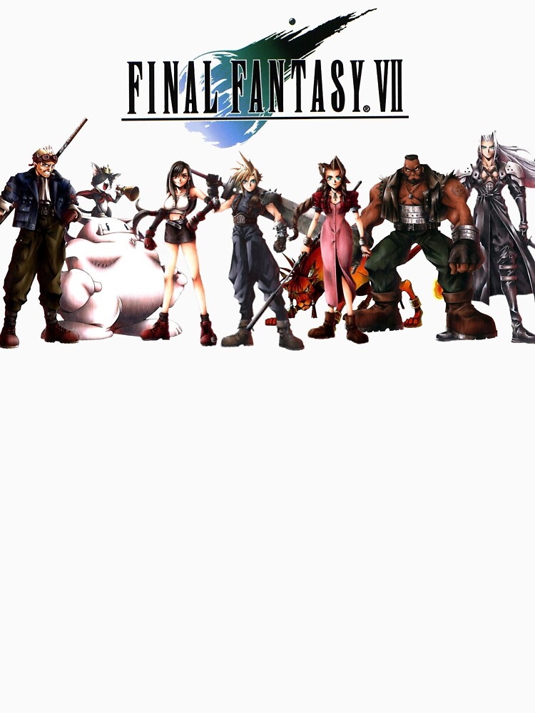 Final Fantasy VII characters by RetroGamezzz