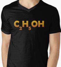 C2H5OHAlcohol Men's V-Neck T-Shirt