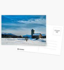 Winter With Jay Peak Postcards