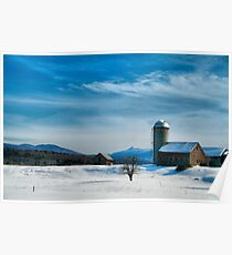 Winter With Jay Peak Poster