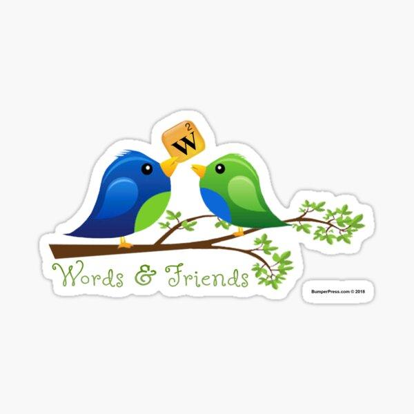 Words & Friends Sticker