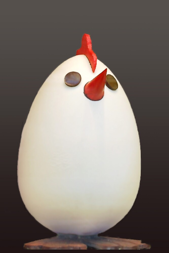 Easter egg and springchicken by Arie Koene
