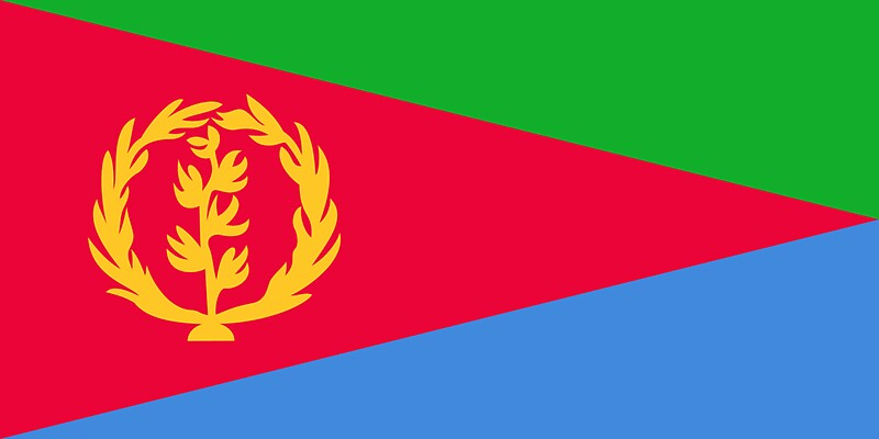 Eritrea flag sticker by bokrok