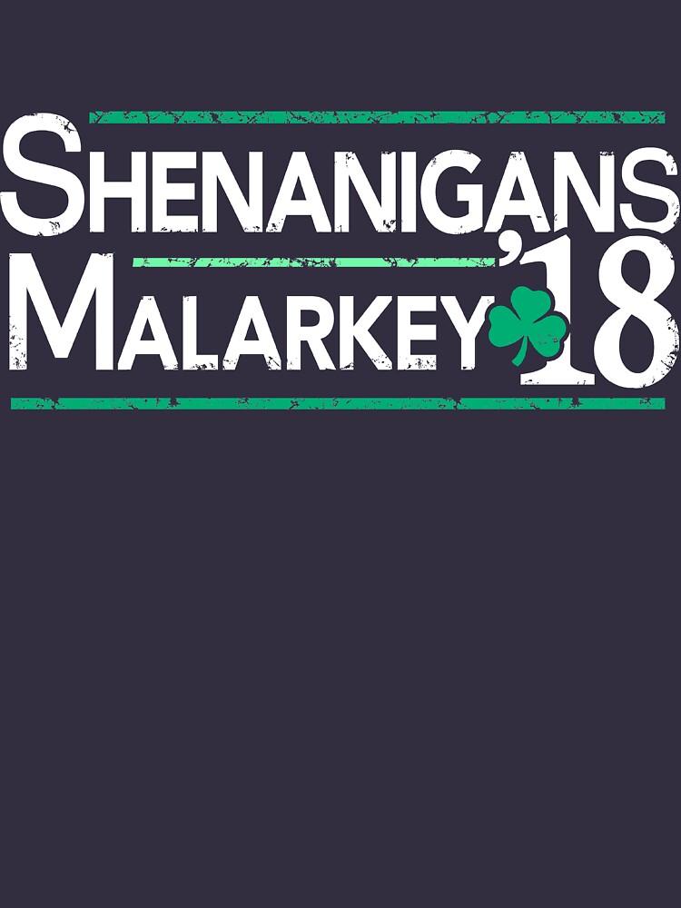 Shenanigans und Malarkey 2018 St Patrick Tag von BootsBoots