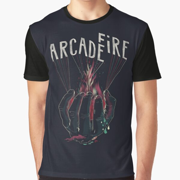 Arcade Fire Hand Graphic T-Shirt