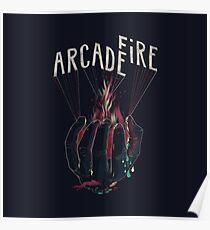 Arcade Fire Hand Poster