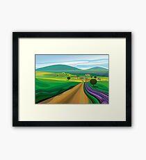 Walla Walla Farms Framed Print