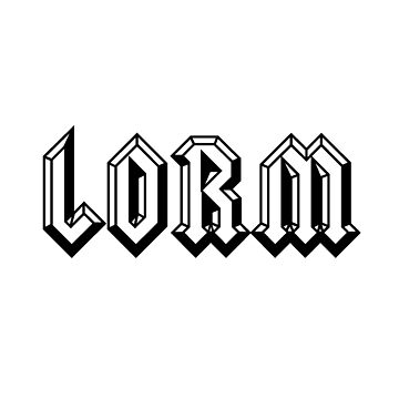 LORM by i-love-food