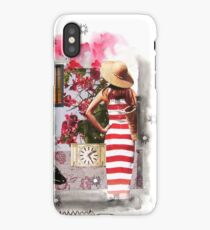 The Striped Dress Collage iPhone Case