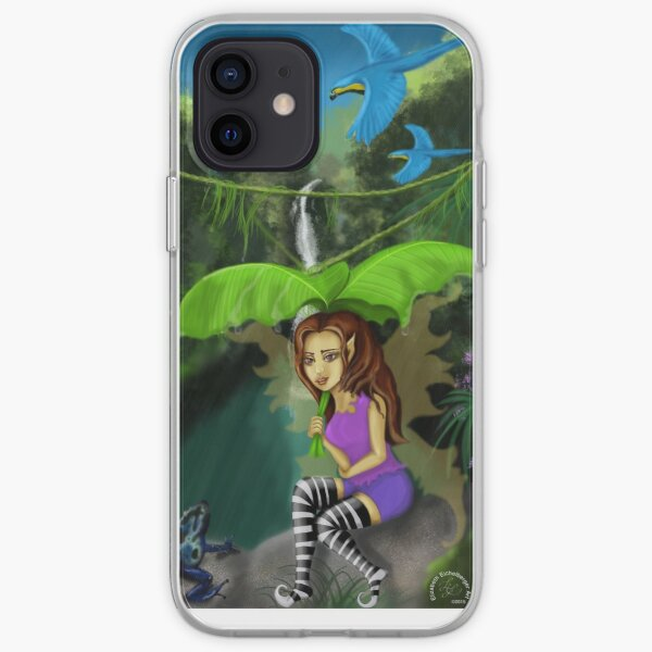 Rainforest Fairy iPhone Soft Case