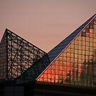 Aquarium Skylight at Sunset by Gary Pope