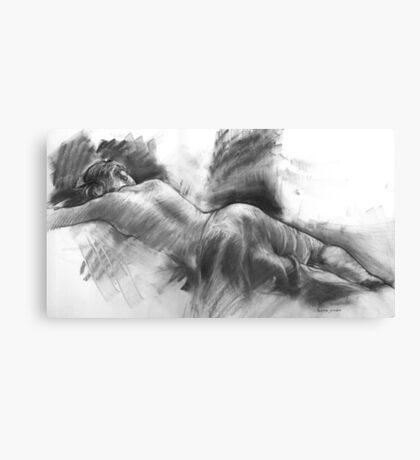 Resting Model Canvas Print