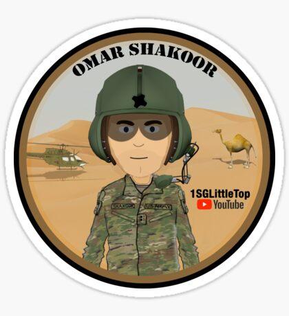 Omar Shakoor-  Member of 1SG Little Top's Patreon Sticker