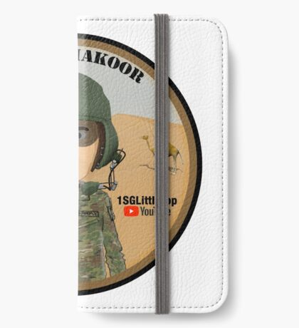 Omar Shakoor-  Member of 1SG Little Top's Patreon iPhone Wallet