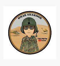 Omar Shakoor-  Member of 1SG Little Top's Patreon Photographic Print