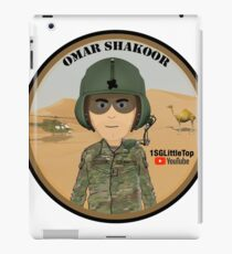 Omar Shakoor-  Member of 1SG Little Top's Patreon iPad Case/Skin