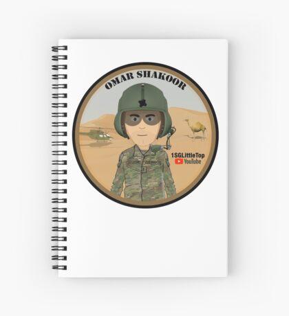 Omar Shakoor-  Member of 1SG Little Top's Patreon Spiral Notebook