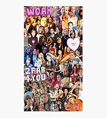 The Holy Trinity collage Photographic Print