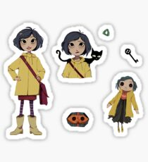 Coraline Stickers Sticker