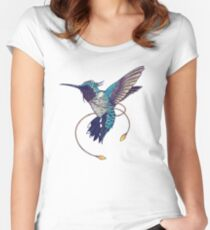 Hummingbird Fitted Scoop T-Shirt