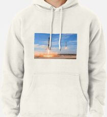 SpaceX Twin Rockets Landing Pullover Hoodie
