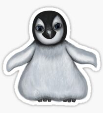 Chubby Penguin Sticker