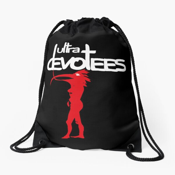Black Ultra devotees Drawstring Bag