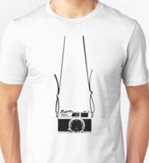 Camera around neck Unisex T-Shirt