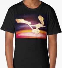 The Edge of the Galaxy Long T-Shirt
