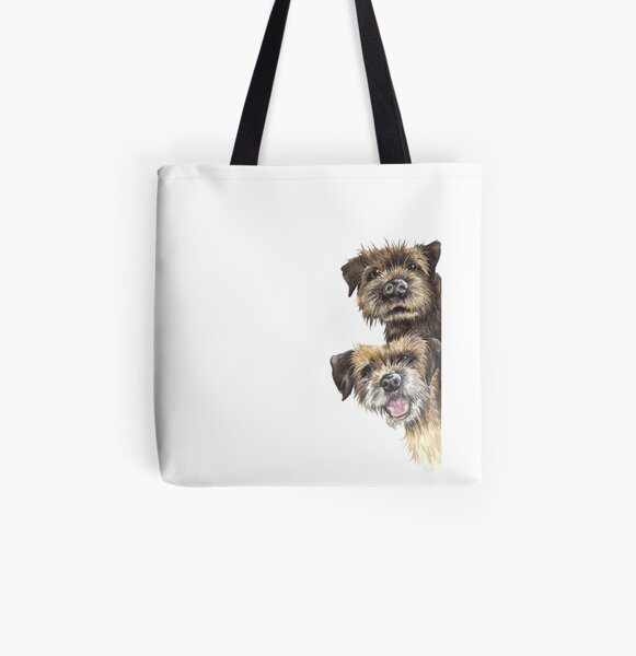 Double Trouble All Over Print Tote Bag