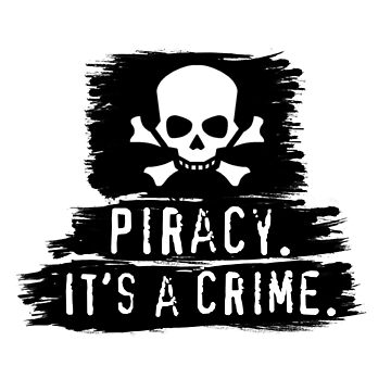 Piracy - It's A Crime (Anti-Piracy PSA Advert Parody Design) by tpz757