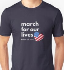 March for our Lives, Parkland School Shooting Gun Control March Unisex T-Shirt