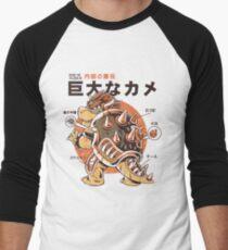 Bowserzilla Men's Baseball ¾ T-Shirt