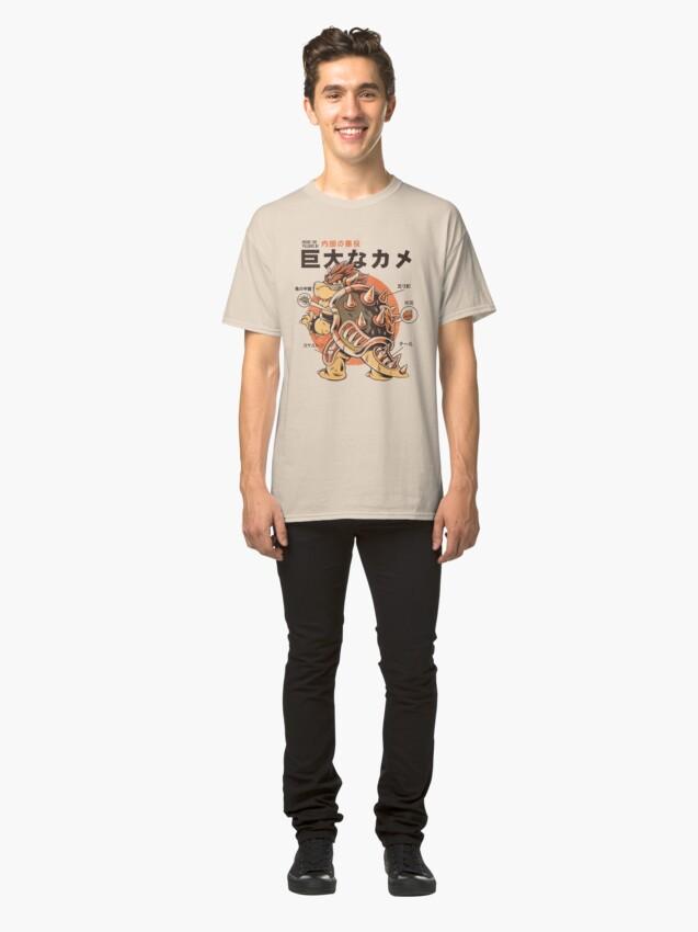 Alternative Ansicht von Bowserzilla Classic T-Shirt