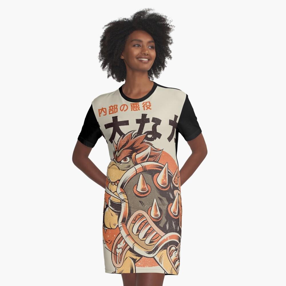 Bowserzilla Graphic T-Shirt Dress