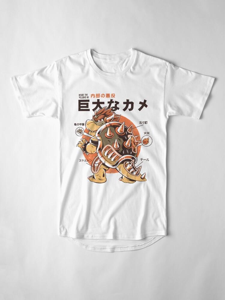 Alternate view of Bowserzilla Long T-Shirt