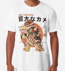 Camiseta larga Bowserzilla
