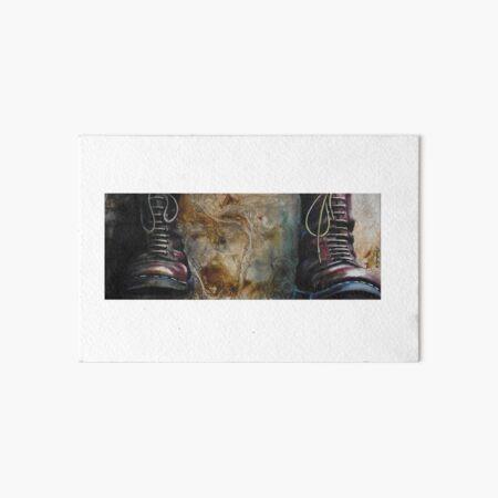 Moonstomp doc martens Art Board Print