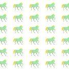 Green Unicorn by artlilly