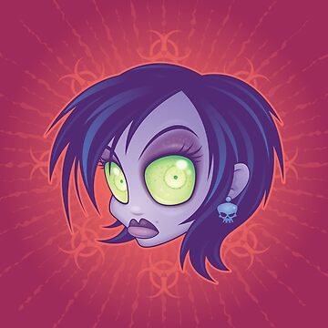 Zombie Chick by fizzgig
