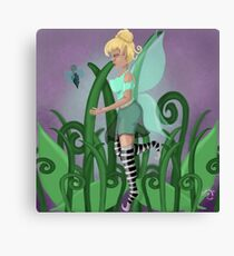 The Fairy And The Sprite Canvas Print