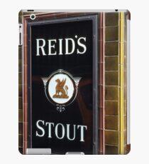 Reid's stout sign at Pub entrance, London, 1975, iPad Case/Skin