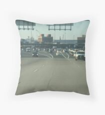 Moving to New York  Throw Pillow