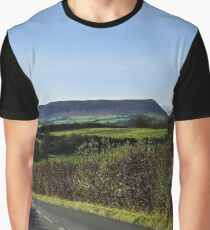 On the road to Ysgyryd Fawr Graphic T-Shirt