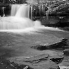 Waterfall at Rice Dam by Aaron Campbell